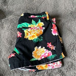 Like New Floral Shorts